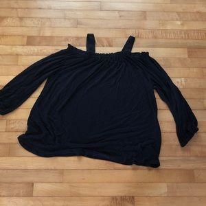 LOFT Long Sleeved Cold Shoulder Top XL